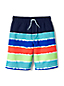 Toddler Boys' Tie-dye Stripe Swim Shorts