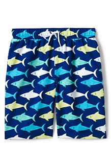 Boys' Printed Swim Shorts