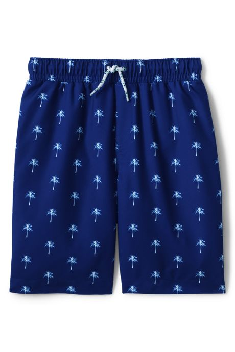 Toddler Boys Printed Swim Trunks