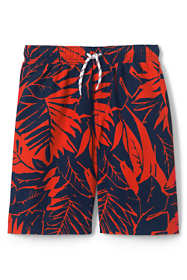 Boys Husky Printed Swim Trunks