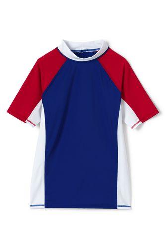 Le T-Shirt de Bain Blocs de Couleurs, Petit Garçon