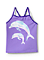 Toddler Girls' Graphic Tankini Top