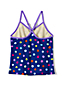 Toddler Girls' Smart Swim Pattern Tankini Top