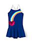 Toddler Girls' Sequin Heart Skirted Swimsuit