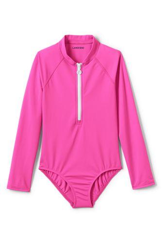 Girls' Long Sleeve Swimsuit