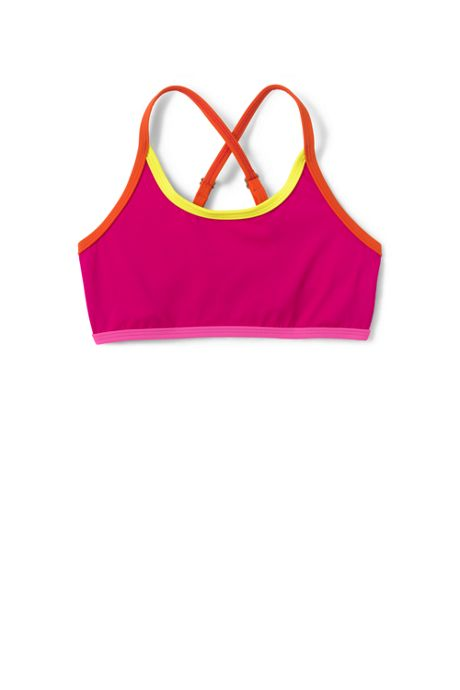 Little Girls Smart Swim Bikini Top