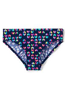 Girls' Smart Swim Patterned Bikini Bottoms