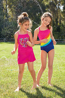 Toddler Girls Bikini Bottoms, Unknown