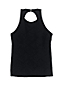 Women's Textured High-neck Tankini Top