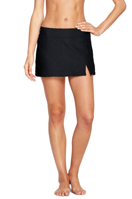 Women's Texture Mini SwimMini Skirt