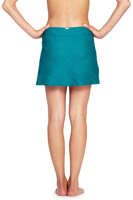 Women's Texture SwimMini Skirt