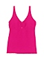Women's Textured Scoop Neck Tankini Top