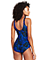 Women's Leaf Stripe Tugless Swimsuit