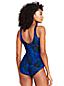 Women's Mastectomy Leaf Stripe Tugless Swimsuit