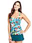 Le Tankini Froncé Paradis Floral, Femme Stature Standard