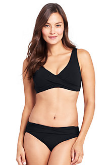 Women's Resort Collection Wrap Front Bikini Top