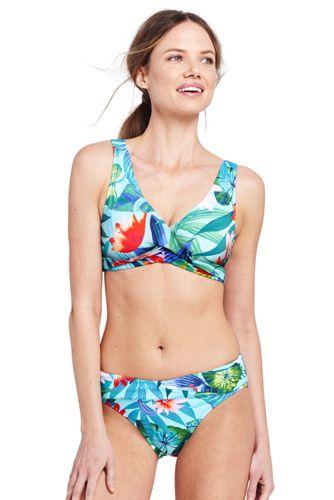 Le Haut de Bikini Paradis Floral, Femme Stature Standard