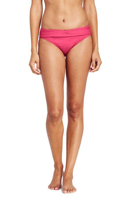 Women's Wrap Mid Waist Bikini Bottoms