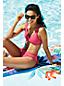 Women's Resort Collection Wrap Front Bikini Bottoms