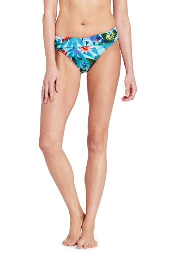 Women's Resort Collection Wrap Front Bikini Bottoms