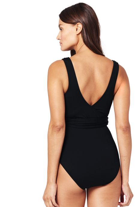 Women's Wrap One Piece Swimsuit