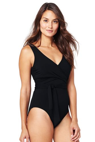 Women's Resort Collection Wrap Swimsuit