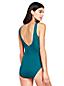 Women's Plus Slender Wrap Front Swimsuit