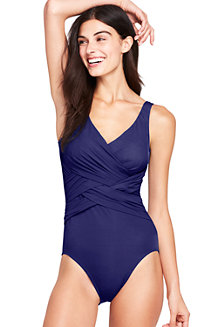 Women's Slender Wrap One-piece
