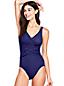 Women's Slender Wrap Front Swimsuit