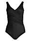 Women's Wrap Front Slender Swimsuit - DDD Cup