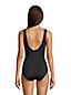 Maillot 1 Pièce Amincissant Bonnet D Uni Drapé Croisé, Femme Stature Standard
