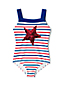 Little Girls' Sequin Star Americana Swimsuit