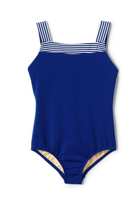 Girls Slim One Piece Swimsuit
