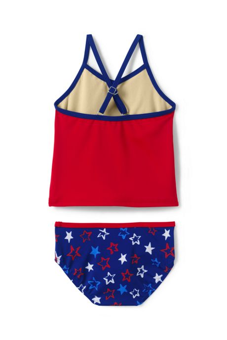 Toddler Girls Tankini Swimsuit Set