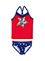 Little Girls' Americana Graphic Tankini Set