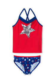 Girls Plus Tankini Swimsuit Set
