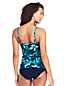 Women's Shape & Enhance Split Front Orchid Tankini Top