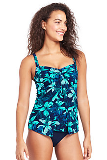 Women's Shape & Enhance V-neck Tankini Top Orchid