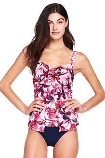 Womens Regular Shape & Enhance Twist Front Blossom Print Tankini Top - 14-16 - WHITE Lands End Buy Cheap Low Price Fee Shipping Fast Delivery Cheap Online Many Kinds Of Online Footlocker Finishline Cheap Price Outlet Free Shipping QZm6Jo2