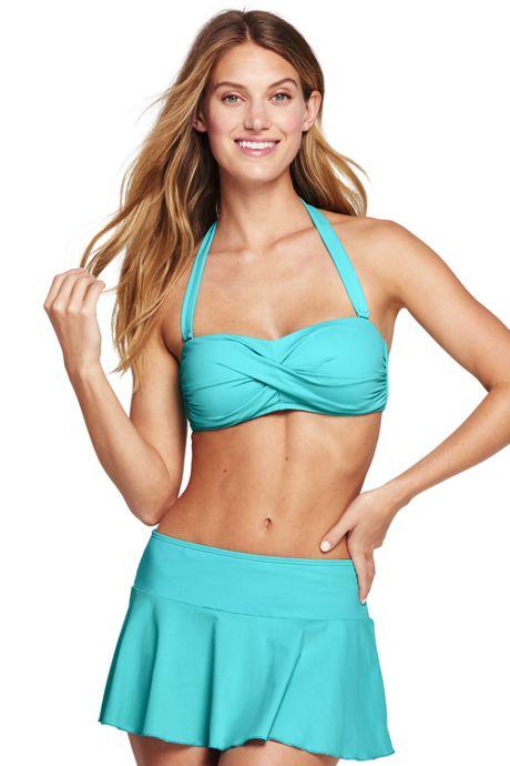 Women's DD-Cup Bandeau Bikini Top