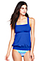 Women's Beach Living Blouson Tankini Top