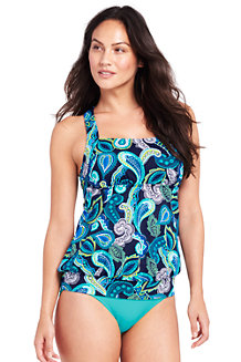 Visa Payment Sale Online Womens Regular Beach Living Bandeau Paisley Halterneck Tankini Top - 14-16 - BLUE Lands End Cheap Finishline Original Cheap Price Outlet Footlocker Pictures cFac92d