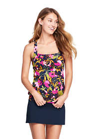 Women's Long Blouson Tankini Top