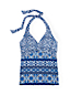 Women's Beach Living Twist Tankini Top Majolica Tile