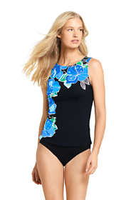 Women's DDD-Cup High-neck Tankini Top