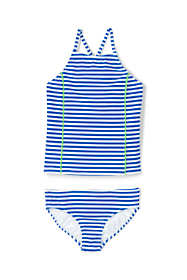 Girls Slim Tankini Swimsuit Set