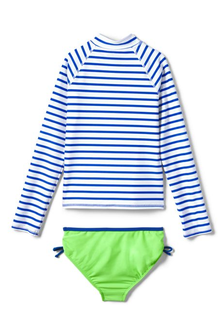 Little Girls Rash Guard Set