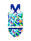 Little Girls' Sun Ruffle Trim Tankini Set