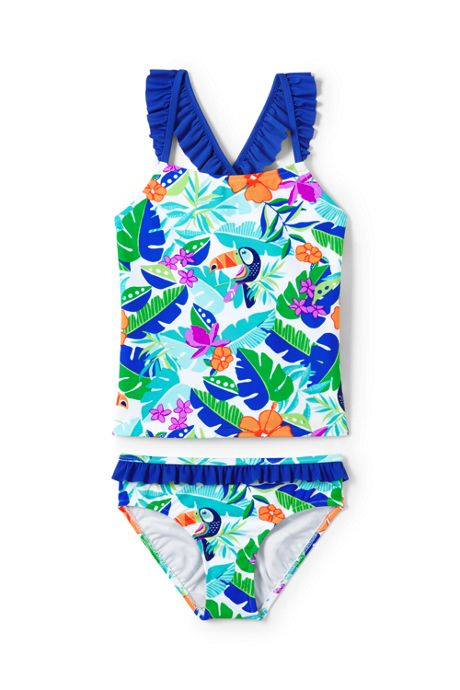 Girls Tankini Swimsuit Set
