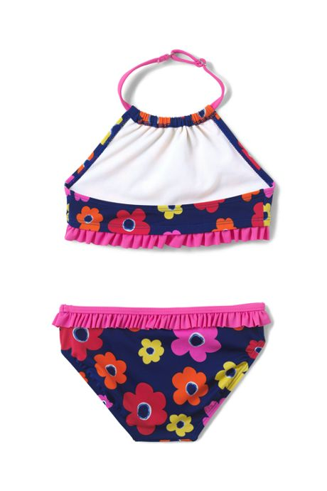 Girls Slim Bikini Swimsuit Set